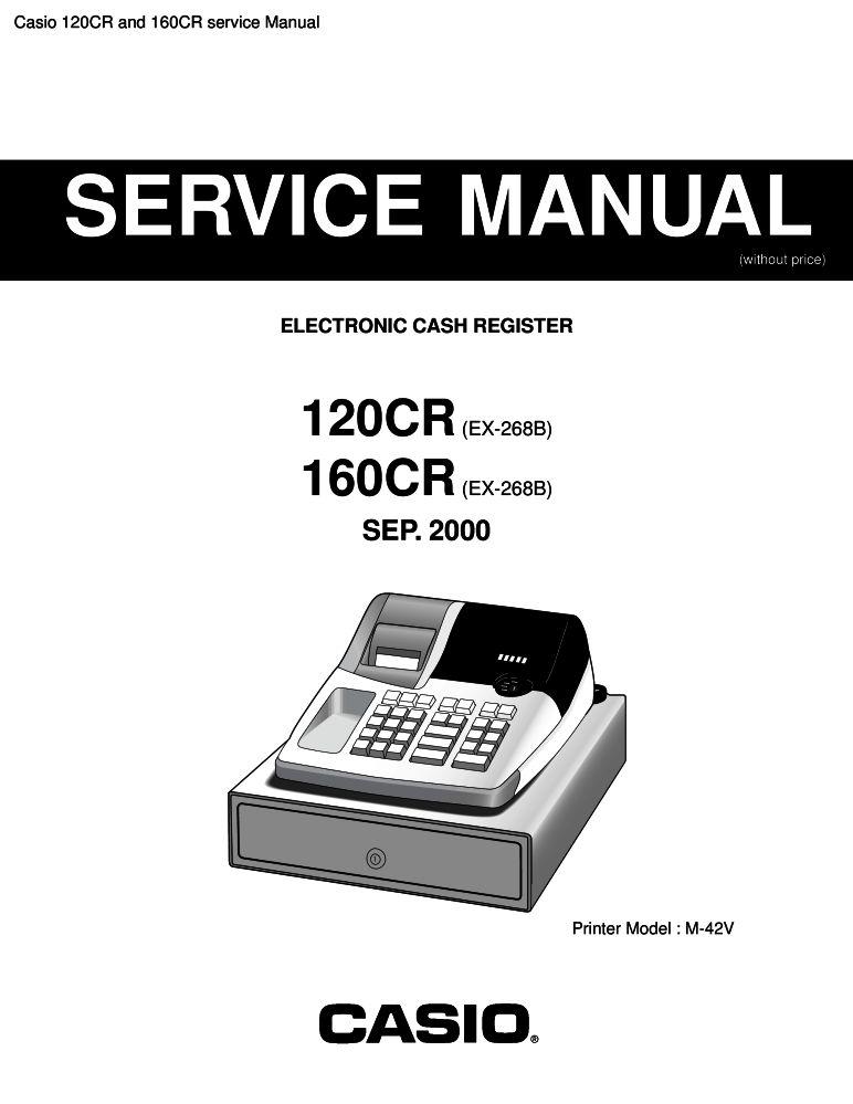 Casio 120cr user manual pdf download.