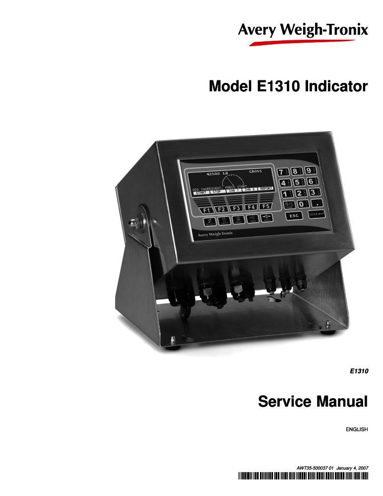weigh tronix e 1310 service manual pdf the checkout tech store rh the checkout tech com avery weigh tronix service manual e1110 avery weigh tronix service manual wi-125