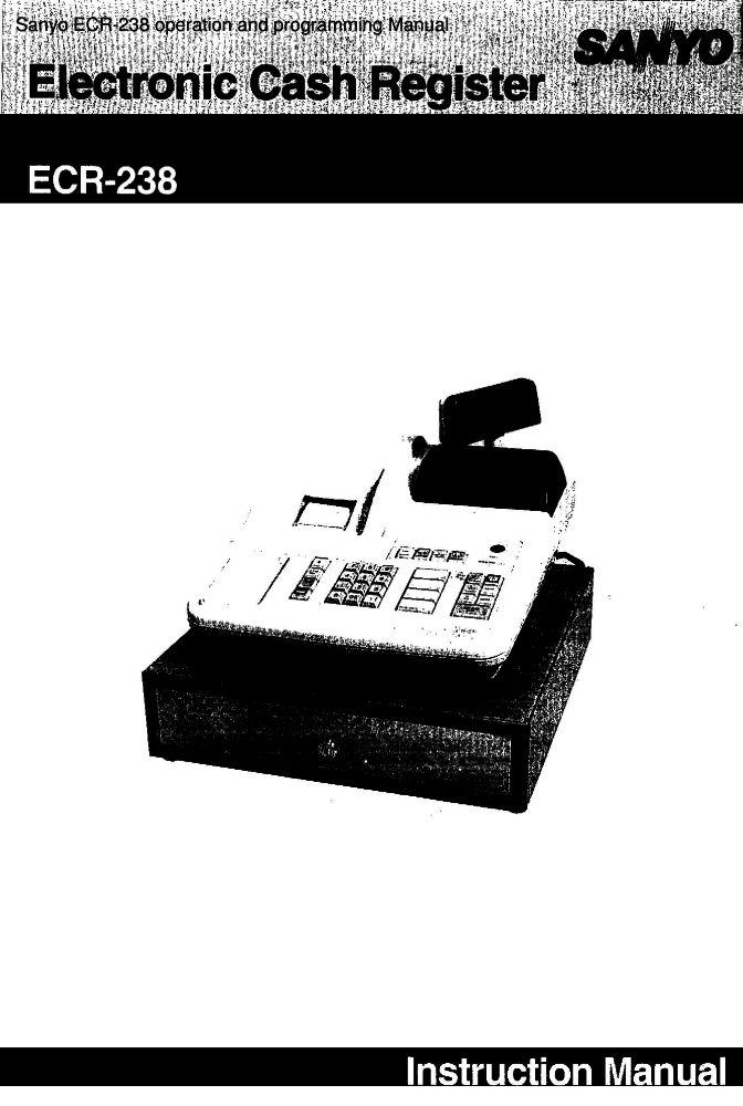 sanyo ecr 340 manual daily instruction manual guides u2022 rh testingwordpress co