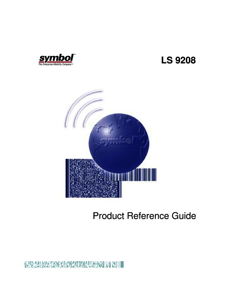 Symbol Ls9208 Manual Pdf