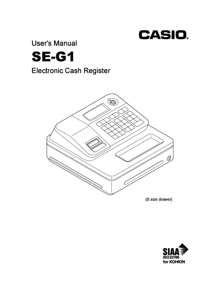 casio se g1 operation and programming manual pdf the checkout tech rh the checkout tech com Tech Manual Cover Page NAVSEA Tech Manuals