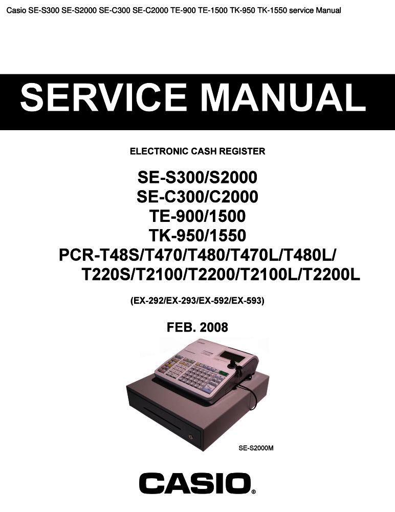 casio s2000 manual