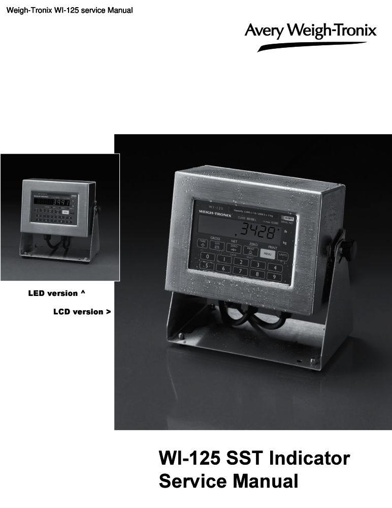 weigh tronix wi 125 service manual pdf the checkout tech store rh the checkout tech com avery weigh tronix zm301 service manual avery weigh tronix zm301 service manual
