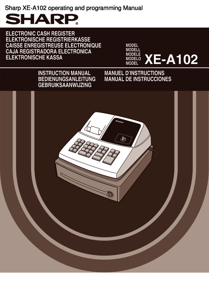 sharp xe a102 operating and programming manual pdf the checkout rh the checkout tech com manual for sharp xe a107 cash register manual for sharp xe a21s