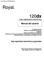 royal 110cx user manual