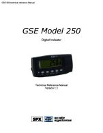 Manual gse 250 | relay | pound (mass).