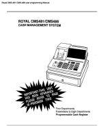 Royal cash register manual user / owner / program email.