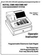 Royal cash register manuals from cash registers online.